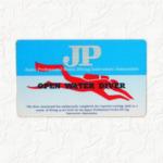 JPのCカード(ダイビングライセンス)