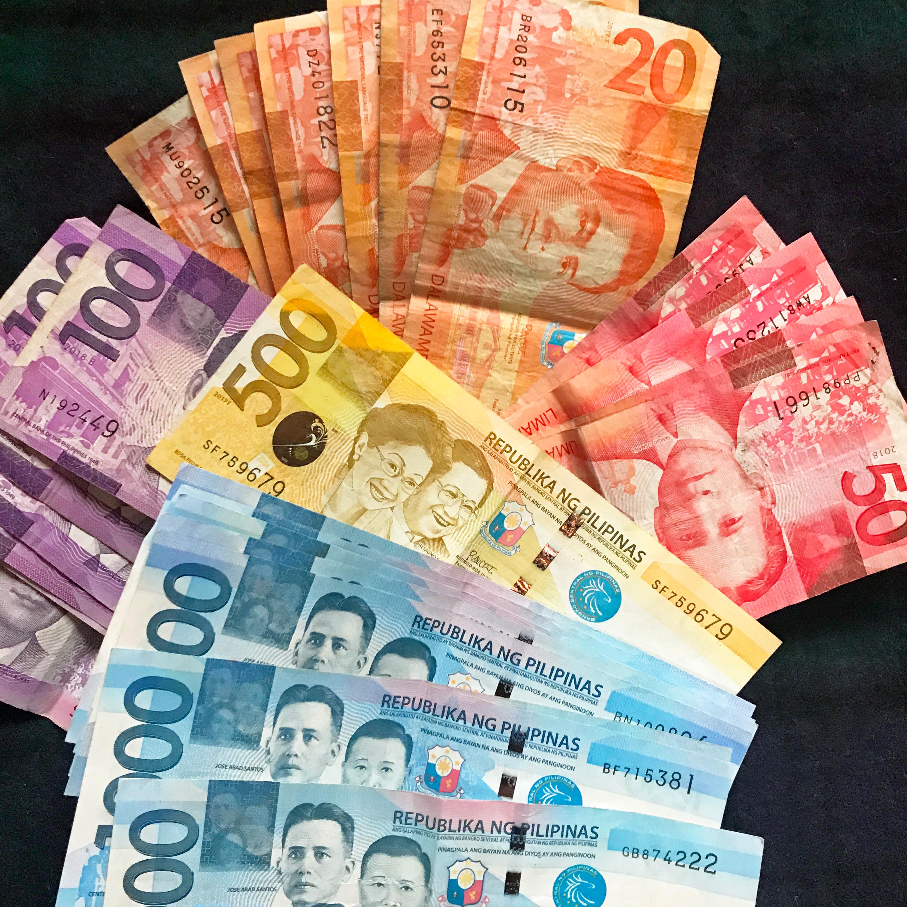 フィリピン通貨ペソ
